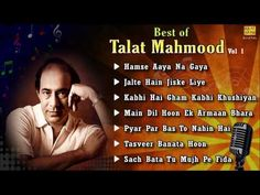 Best of Talat Mahmood - Vol 1 - Jukebox - Full Songs - Bollywood Evergreen Collection - YouTube