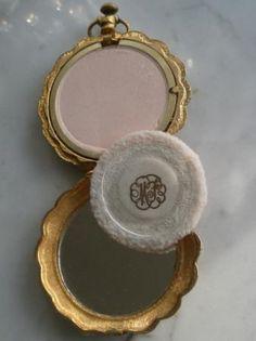 Image detail for -Vintage Max Factor Golden Lark Pocket Watch Compact | eBay