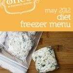 Freezer meals for the whole month, so many options including whole foods, diet meals, and baby food