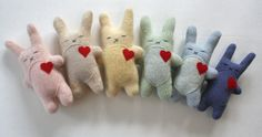 Easter Bunny Softies!