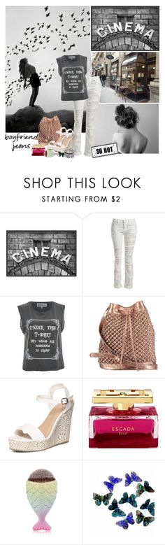 """""""Stylish Boyfriend Jeans"""" by johannamaria37 ❤ liked on Polyvore featuring Worth, Pottery Barn, Sans Souci, Wildfox, nooki design, Dorothy Perkins, WithChic and boyfriendjeans"""