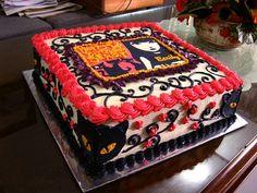 Emily the Strange cake