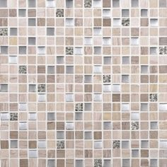 Bath 3 - Wall Accent and Niche - Tie - Dal Tile, Marvel, MV20 Whimsical 5/8x5/8 _ Grout Custom Winter Gray 335