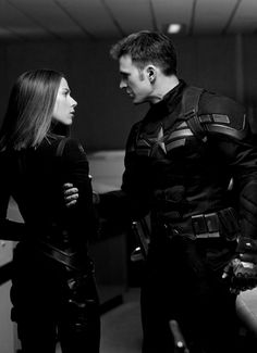 Natasha & Steve, Captain America: Winter Soldier (Chris Evans and Scarlett Johansson)