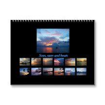Seas, suns and boats Calendar
