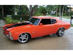 It wouldnt have these rims buut daaamn! 1971 Chevelle SS