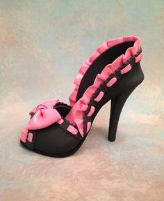 High Heel Shoe  done by:  Iris Rezoagli  Cakes We bake
