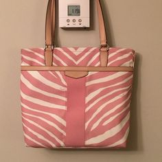 Price drop Coach bag! Adorable! Zebra print beautiful bag I love it but have no need for it only used 1 Time make me fair offer. Coach Bags Shoulder Bags