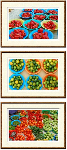 PRINTABLE food photos set of 3 digital images by NewCreatioNZ, $30.00