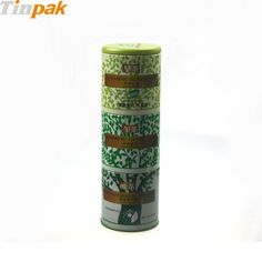The unique structure and elegant printing make the metal coffee canisters be more premium and attractive for people. http://www.tinpak.us/Products/AirtightCoffeeMetalCanister.html