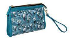 Crystal Pochette Powder Blue and Powder Blue.  www.federicalunello.com  #federicalunello #bags #accessories #handmade #madeinitaly