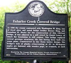 Euharlee Creek Covered Bridge, Cartersville Georgia