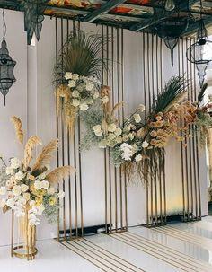Wedding Backdrops, Wedding Decorations, Table Decorations, Boho Wedding, Wedding Flowers, Wedding Events, Weddings, South Asian Wedding, Wedding Welcome