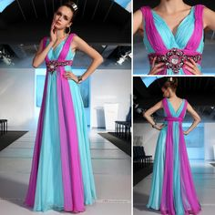 free sipping 2016 blue and purple Banquet bridesmaid bride long design rainbow colors married evening dress celebrity dresses Turquoise Bridesmaid Dresses, Blue Wedding Dresses, Prom Dresses, Formal Dresses, Purple Wedding, Bridesmaids, Dream Wedding, Baby Wedding, Wedding Outfits