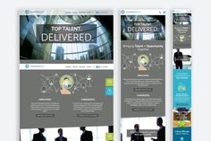 Connected Search Responsive Website Design