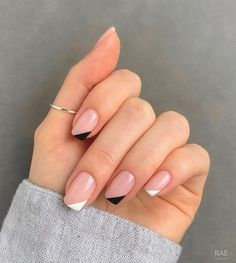 Frensh Nails, Chic Nails, Stylish Nails, Swag Nails, Classy Nails, Casual Nails, Trendy Nail Art, Elegant Nails, Sophisticated Nails