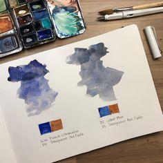 What's your favourite shadow grey mix? - Liz Steel : Liz Steel Watercolor Pallet, Watercolor Mixing, Watercolor Video, Watercolor Sketchbook, Watercolor And Ink, Watercolor Flowers, Watercolor Branding, Color Harmony, Art Techniques