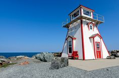 Arisaig, en el condado de Antigonish (Nueva Escocia, Canadá), es una réplica del original de 2007.