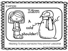 Idioms ~ Center Game, Task Cards and Writing Center for L.4.5.b #TPT $Paid