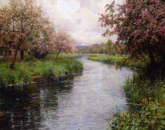 DIVAGAR SOBRE TUDO UM POUCO : O Pintor Louis Aston Knight