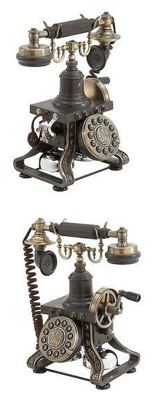 Home Telephones: Uma Enterprises Alma Table Phone Decor -> BUY IT NOW ONLY: $144.99 on eBay!