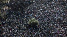 Miles de inmigrantes africanos protestan en Tel Aviv - Soy Armenio