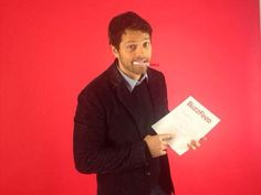 "MISHA!!!   ""SideOfGinger: We just hired mishacollins to write for BuzzFeed LA! He's got some weird ideas so far"