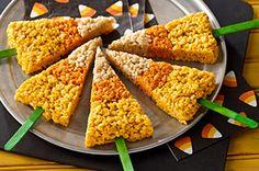 Paletas dulces y crujientes para Halloween Receta - Comida Kraft