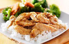 Skillet Chicken Teriyaki  Recipe via @SparkPeople