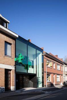 pharmacy VH | de pinte - Projects - CAAN Architecten / Gent