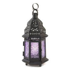 Light Purple Moroccan Style Lantern