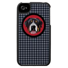 GREATER SWISS MOUNTAIN DOG iPhone 4 CASE