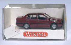 "055 01 Wiking Modellauto ""VW VENTO rotviolett"" TOPZUSTAND in OVP"