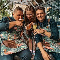 "ApronStudio on Instagram: ""Apron on the job #thevelvet #bratislava #bestseller #apronstyle #bartenderlivestyle #mixilogy #amsterdam🇳🇱 #apronguru"" Bratislava, Copper Color, Bartender, Best Sellers, Apron, Velvet, Couple Photos, Flamingo, Amsterdam"
