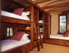 ..another bunk room idea