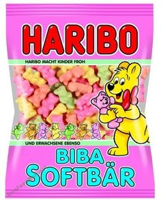 haribo, pink, and cute image Haribo Candy, Haribo Gummy Bears, Candy Theme Birthday Party, Candy Party, Chocolate Candy Brands, Candy Bouquet Diy, Gum Flavors, Disney Coffee Mugs, Junk Food Snacks