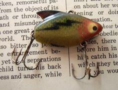 VINTAGE Fishing lure  Heddon Sonic by jennyelkins on Etsy, $4.00