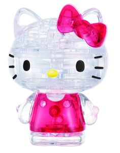 Amazon.com: BePuzzled Hello Kitty Lovely Crystal Puzzle: Game: Toys & Games