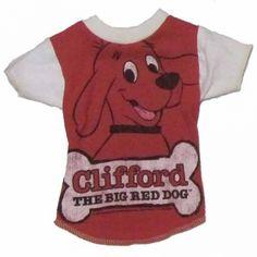 big red dog vintage dog tee