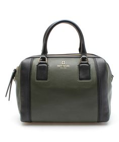 This Loden Blake Hudson Street Leather Satchel by Kate Spade is perfect! #zulilyfinds