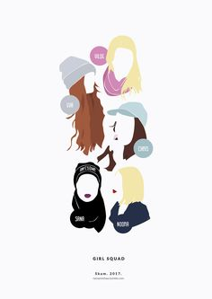 Second pastel version of The Girl Squad has arrived to RedBubble! ^^ I hope you enjoy it :) ♥ SKAM. Movies Showing, Movies And Tv Shows, Series Movies, Tv Series, Skam Tumblr, Noora Style, Skam Wallpaper, Noora And William, Noora Skam