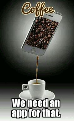 Coffee Lovers Everywhere. How cool it would be to have an #App for this. image credit... http://tgcafe.it/1OgeDrT