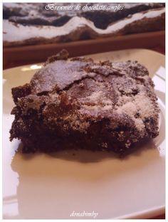 Brownies de Chocolate Simples by Nigella