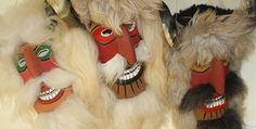 Romanian Masks by maskmonger Romania, Baby Items, Halloween Face Makeup, Projects To Try, Felt, Traditional, Crafts, Ebay, Shopping