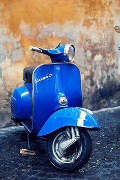 Blue Vespa                                                                                                                                                                                 More