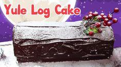 How To Make a Christmas Yule Log Cake