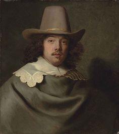 Jacob Adriaensz. Backer (Harlingen 1608-1651 Amsterdam) | Portrait ...