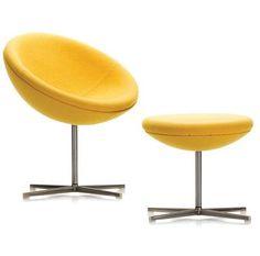Vernon Panton C1 chair and stool 1959