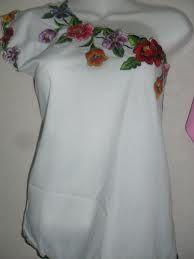 blusas de lino boradadas - Buscar con Google