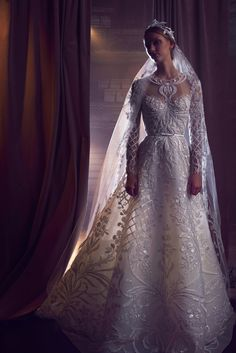 Elie Saab Bridal Fall 2018 Fashion Show Collection